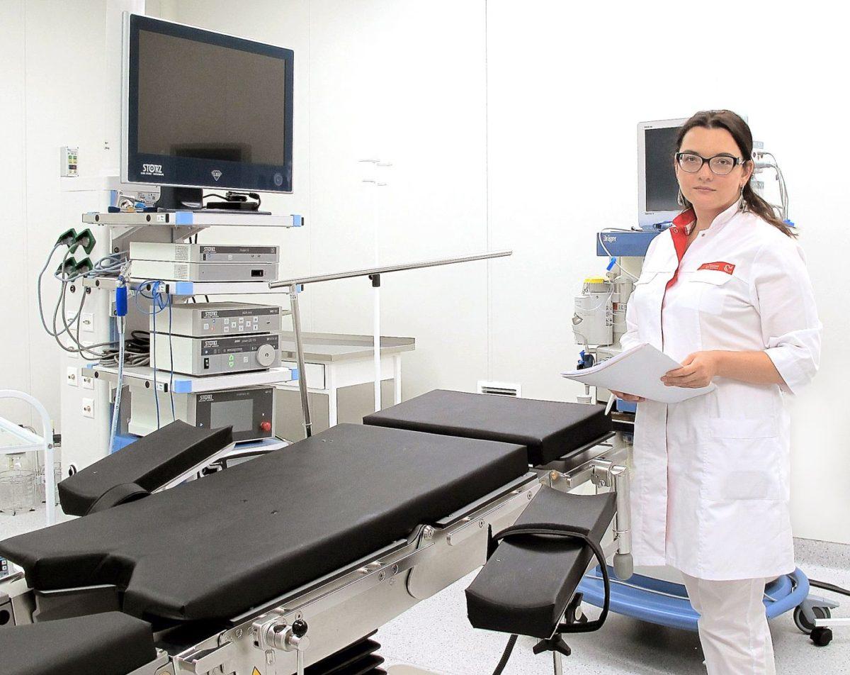 В «Олимпе Здоровья» проводятся практически все виды лапароскопических операций в гинекологии