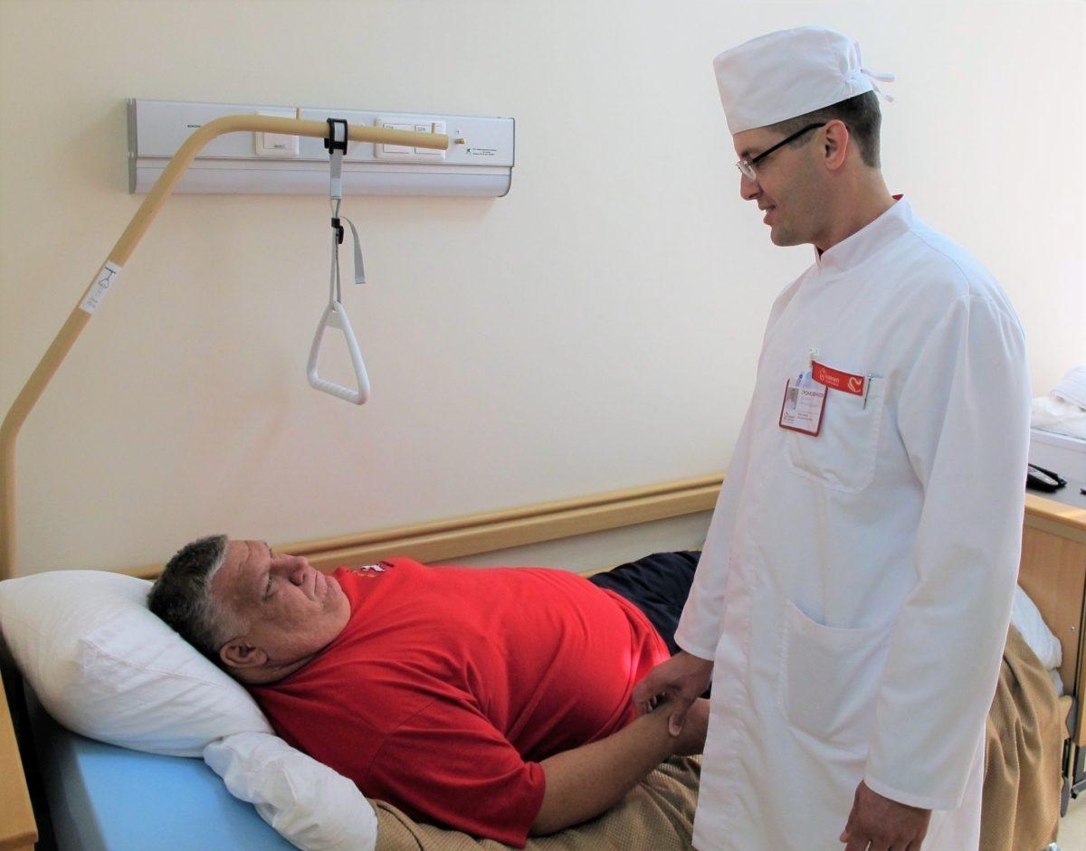 В «Олимпе Здоровья» взят новый рубеж: выполнена первая лапароскопическая бариатрическая операция пациенту с тяжелым ожирением
