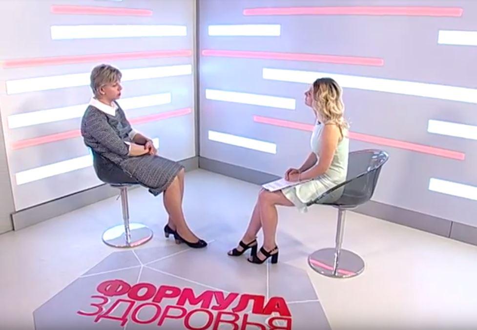 Татьяна Свиридова и Татьяна Коточигова в программе «Формула Здоровья».