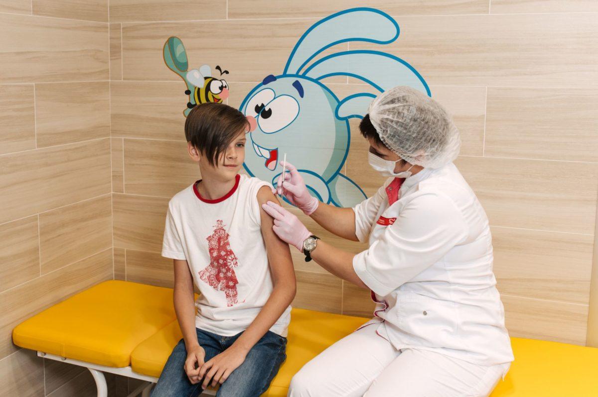 В «Олимпе Здоровья» проводят вакцинацию против гриппа препаратом «Инфлювак»