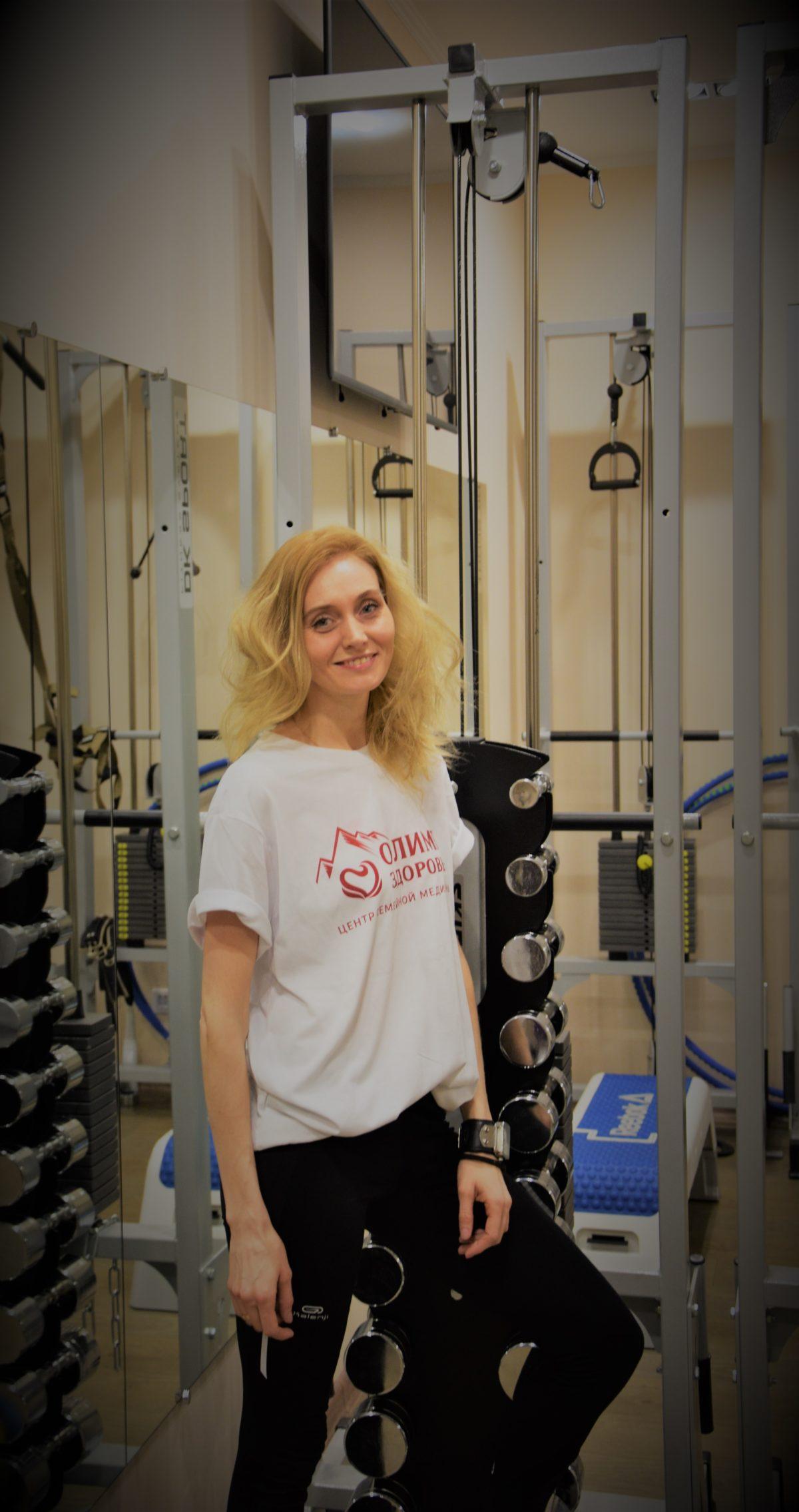 «Олимп Здоровья» предлагает индивидуальные тренировки по специальной цене