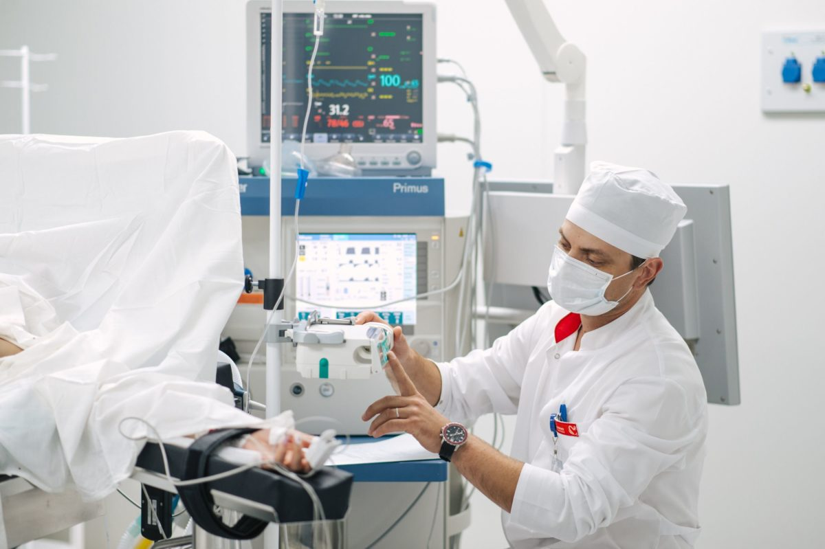 В «Олимпе Здоровья» действует современная служба анестезиологии и реанимации