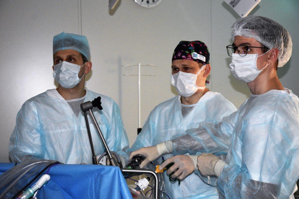 В «Олимпе Здоровья» прошел мастер-класс по хирургии