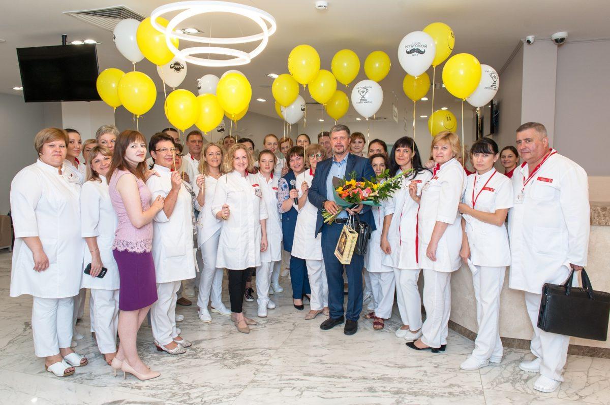 Главный врач «Олимпа Здоровья» отмечает День рождения.