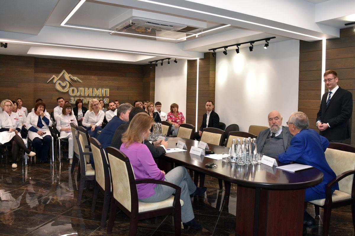 Какой будет медицина будущего — рассказал Президент EPMA на пресс-конференции в «Олимпе Здоровья»