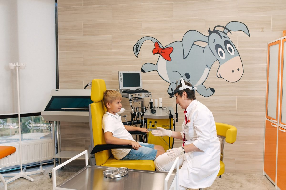 «Олимп Здоровья» предлагает обследование детей перед детским садом, школой