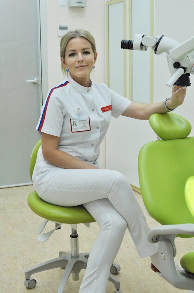 «Олимп Здоровья» предлагает лечение зубов под микроскопом