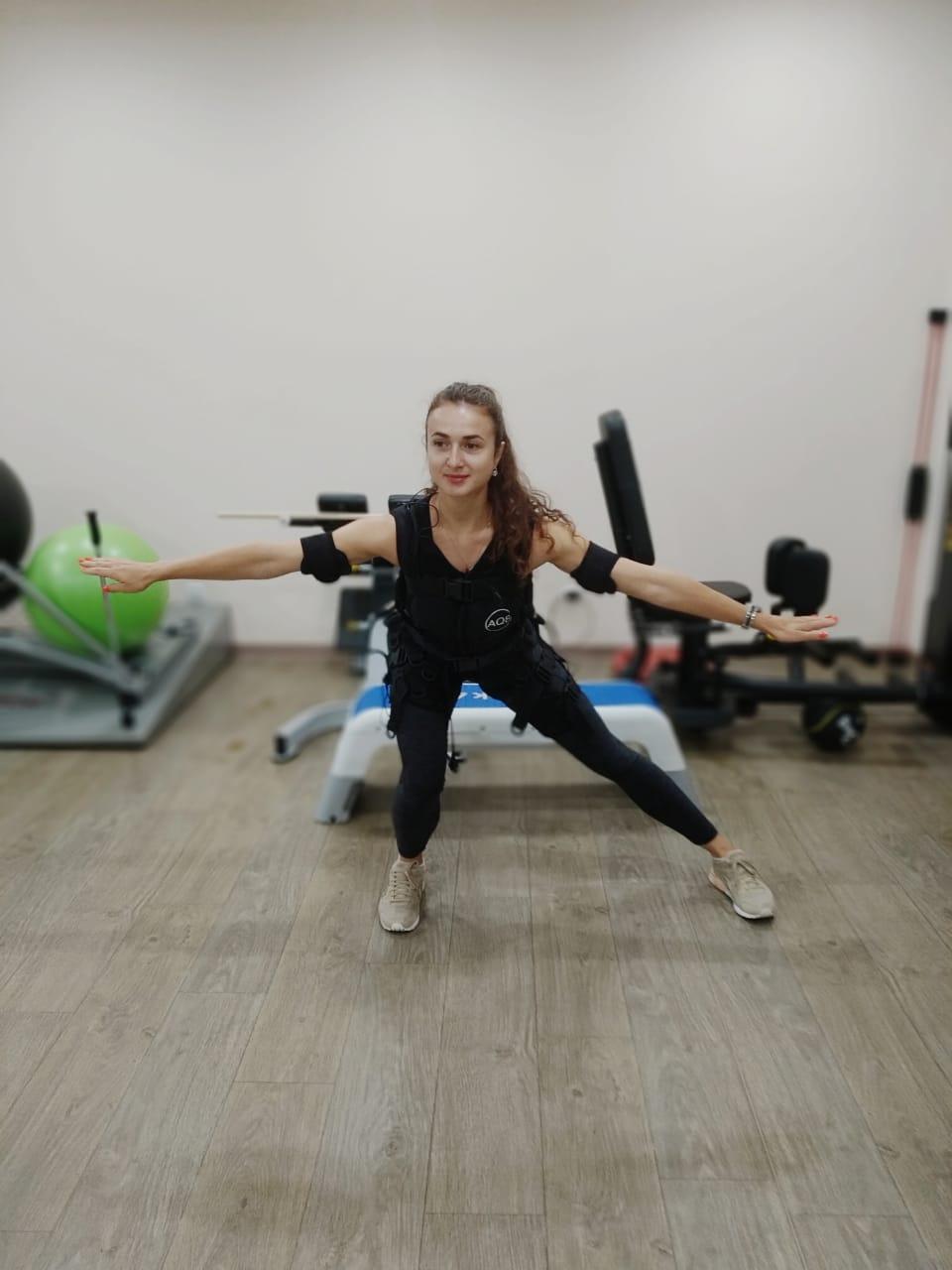 «Олимп Здоровья» предлагает испытать EMS-тренировку