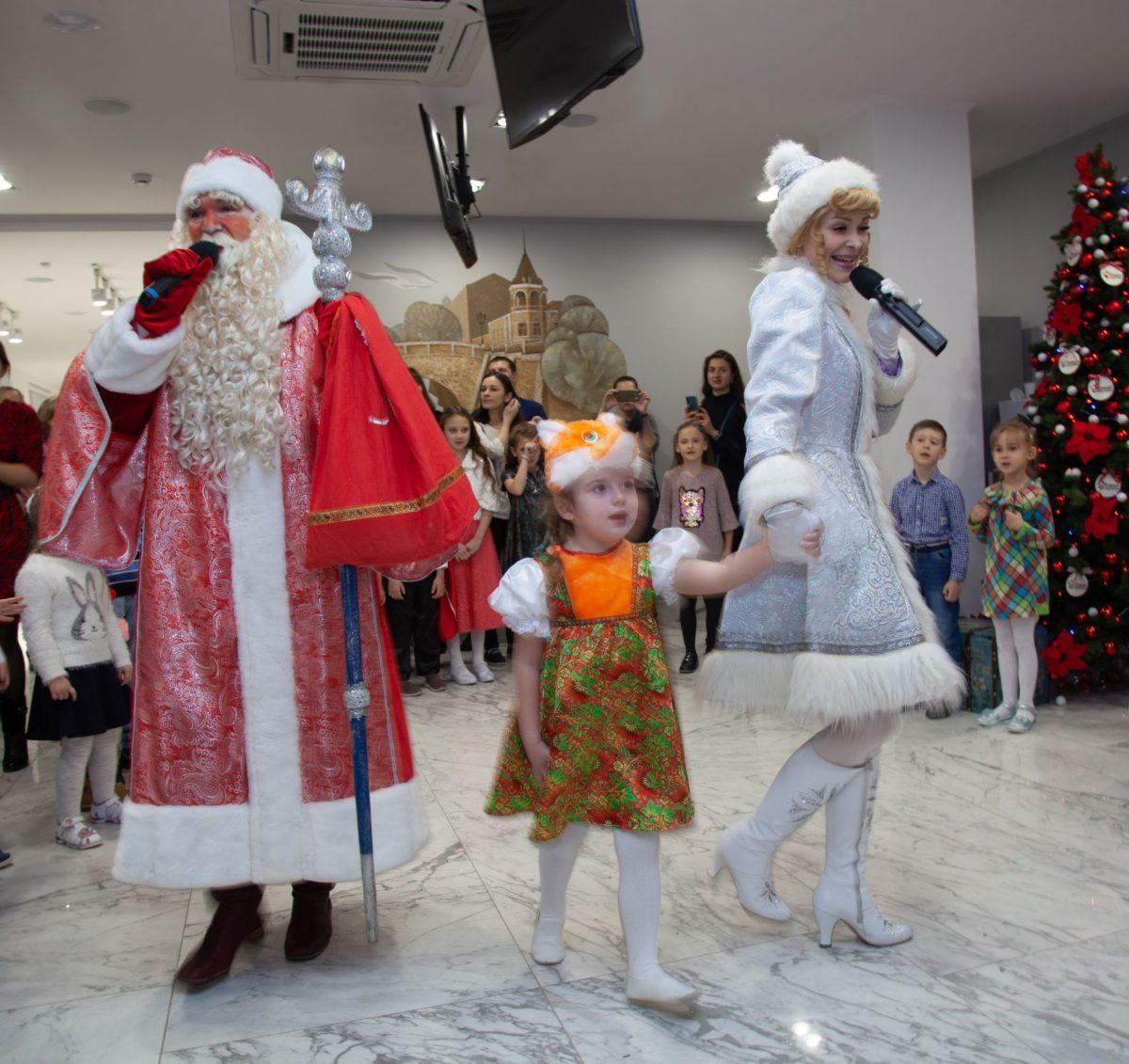 В «Олимпе Здоровья» прошел новогодний детский праздник