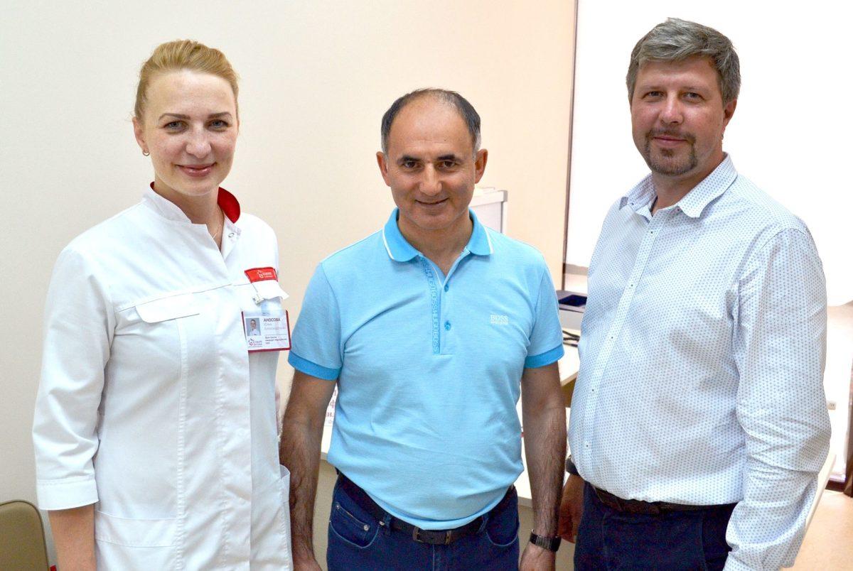 Пациенты «Олимпа Здоровья» смогли получить консультации Сафара Гамидова