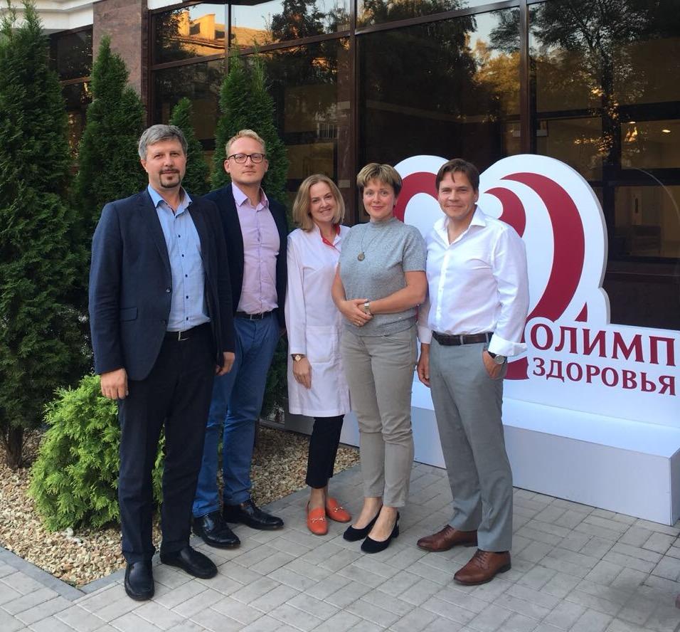 «Олимп Здоровья» принял гостей из Германии