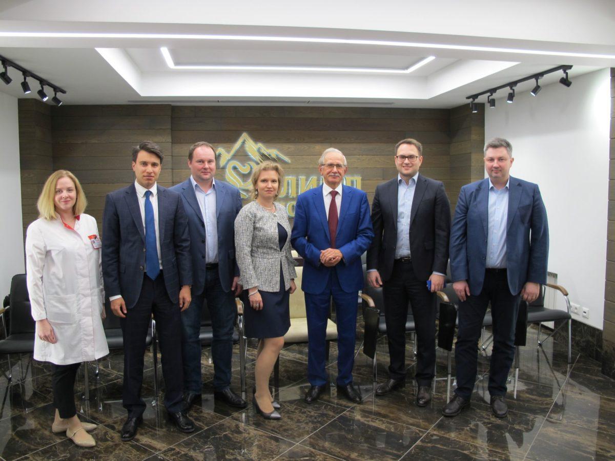 Партнерская встреча в «Олимпе Здоровья»