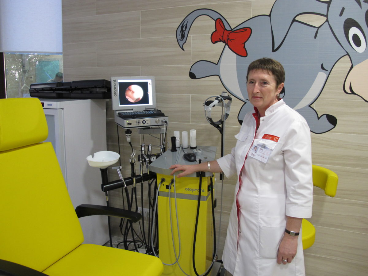 В «Олимпе Здоровья» работает передовой ЛОР-комбайн