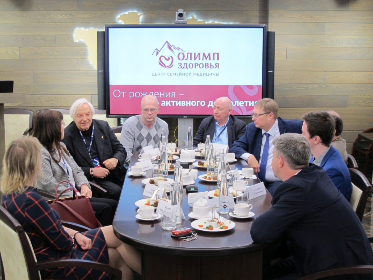 «Олимп Здоровья» предлагает видеозапись заседания круглого стола с участием специалистов-геронтологов и генетиков мирового уровня