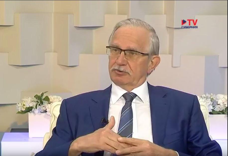 «Утро вместе» c Александром Соловьёвым.
