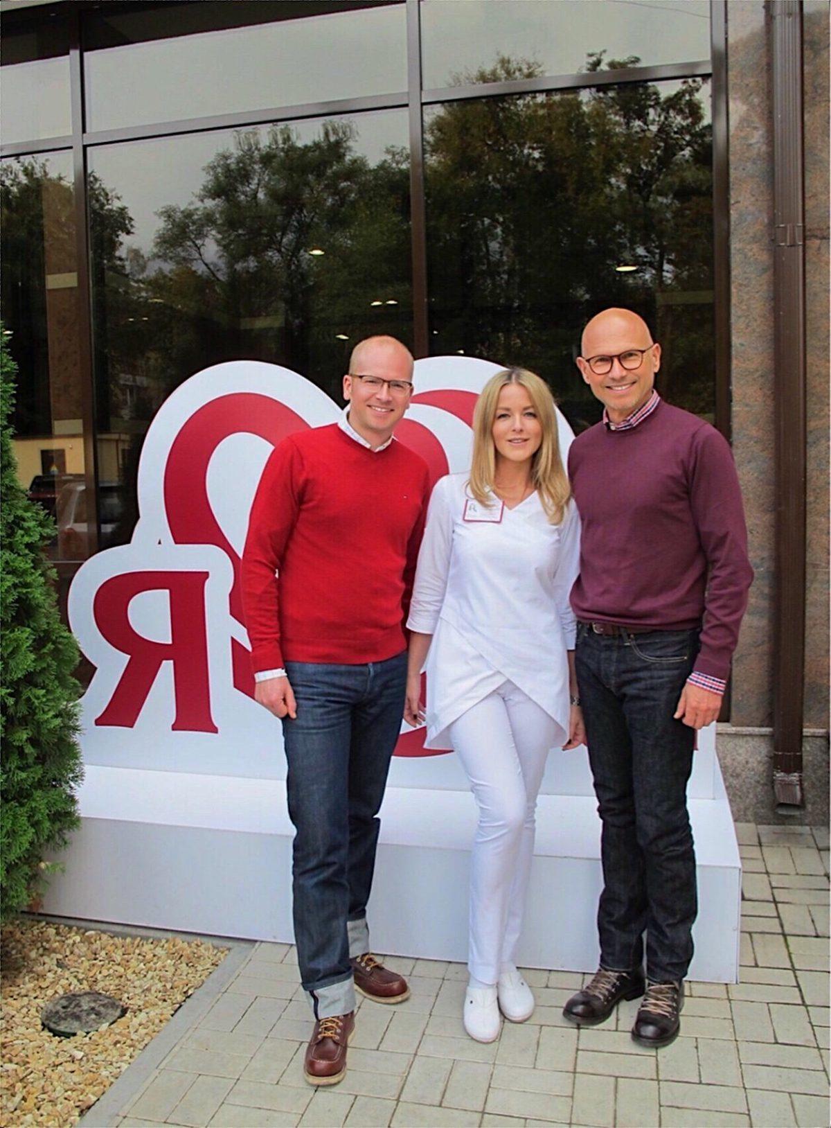 «Олимп Здоровья» посетили стоматологи из Германии