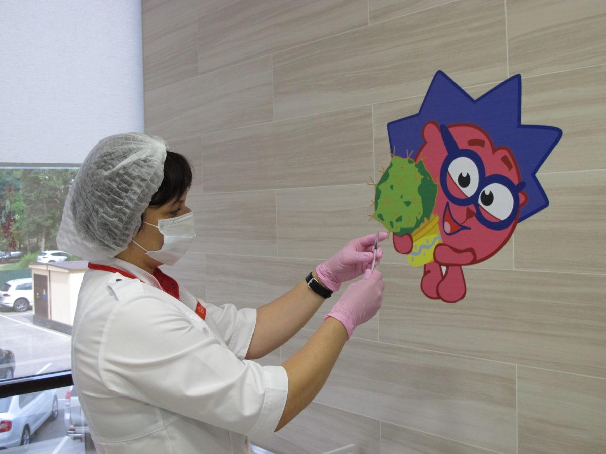 В «Олимпе Здоровья» работает детский прививочный кабинет