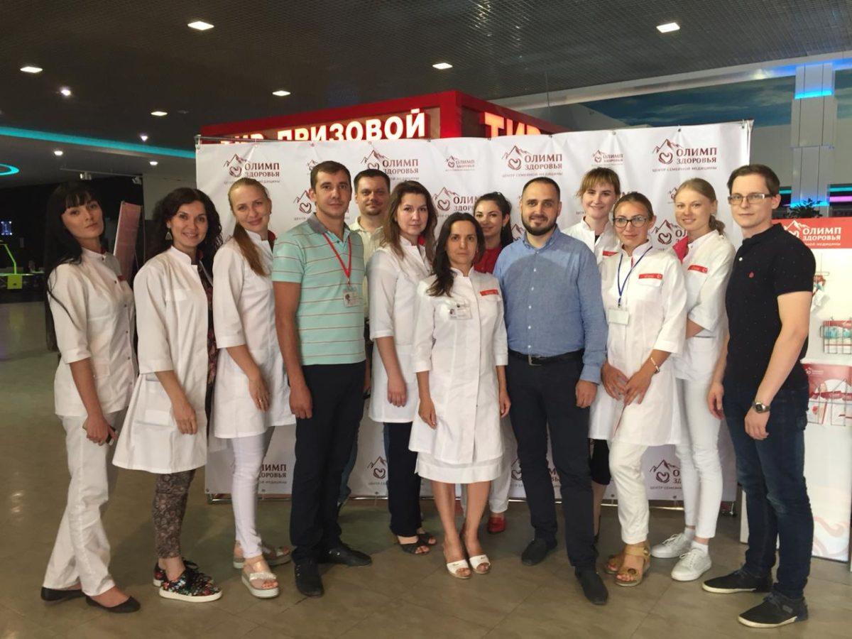 «Олимп Здоровья» выступил партнером фестиваля «Колесо гармонии»