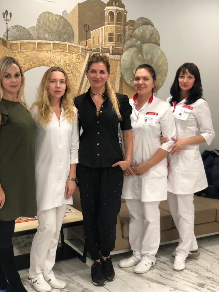 Косметологи «Олимпа Здоровья» прошли мастер-класс