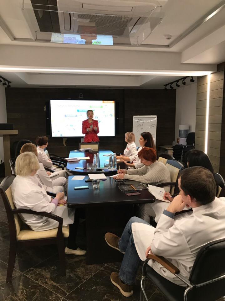 В Центре семейной медицины «Олимп Здоровья» прошел тренинг для врачей «Психосоматический подход в медицине»