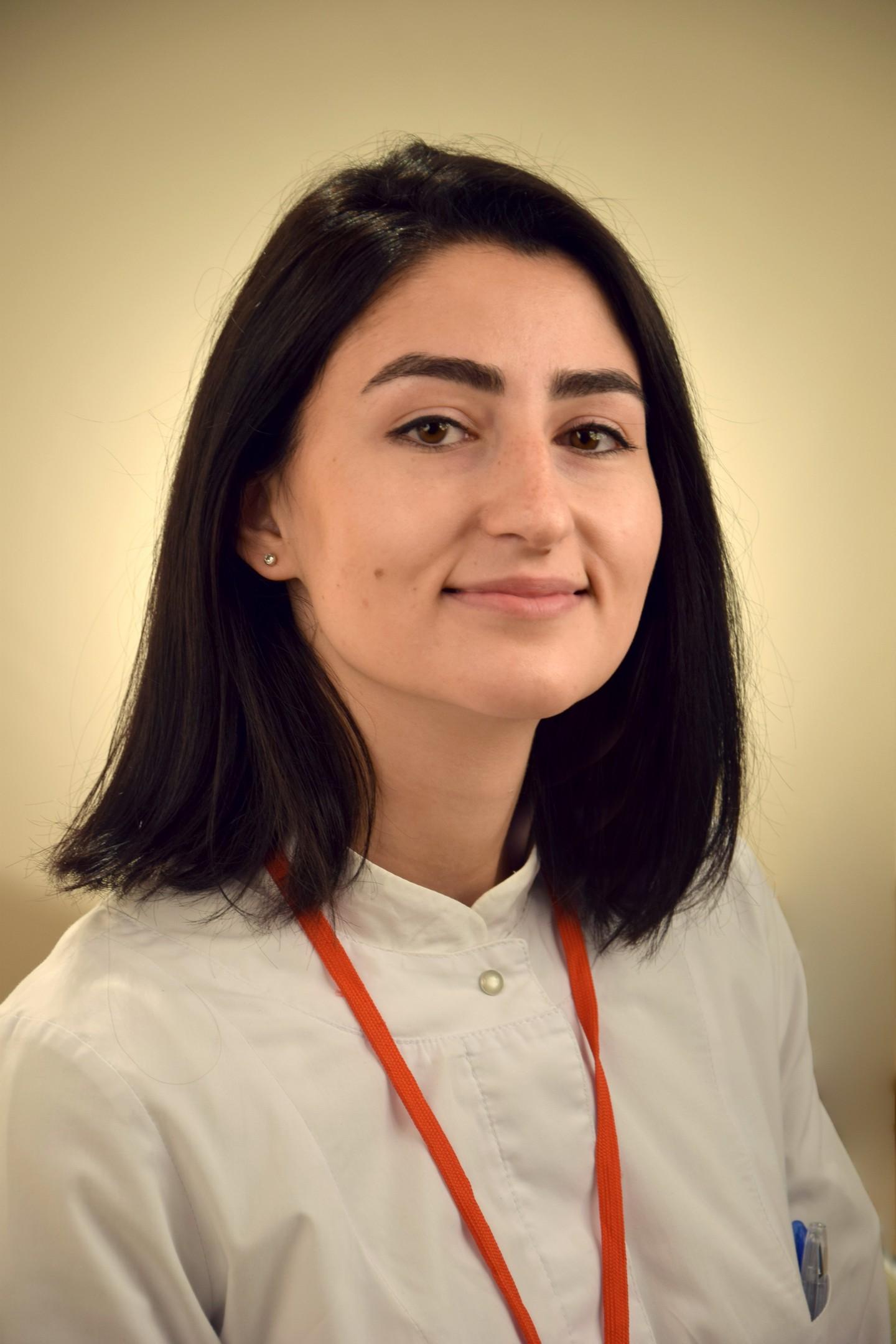 Маргарян Ангин Рафаеловна